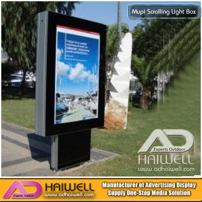 LED Static Mupi Light Boxes with Aluminium Profile