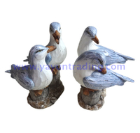 sea series modern nature home decoration resin seagull
