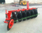 Paddy field disc plough for tractor