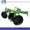 Disc plough for walking tractor