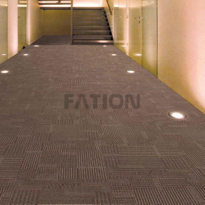 Modern Office Carpet with PVC Backing Hotel Carpet