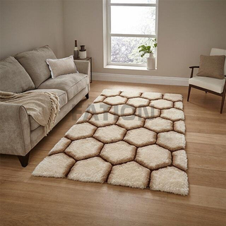 Fluffy Home Decor 3D Shaggy Carpet Unique Area Rugs