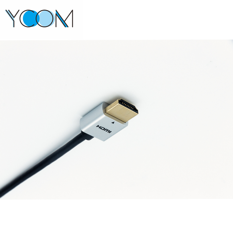 YCOM Round 1080P HDMI Cable Support 3D For Monitor