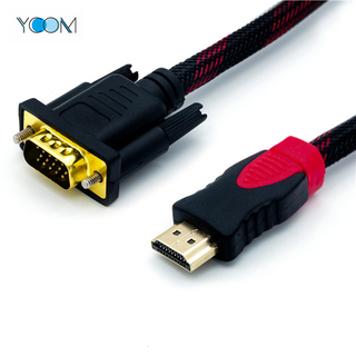 3D OEM macho HDMI a cable VGA con Enthernet