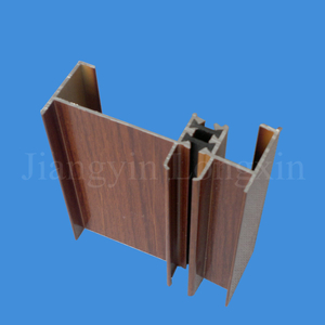 Wooden Print Aluminium Extrusion for Windows