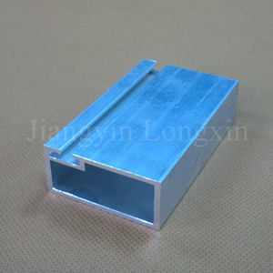 6063 T5 Aluminum Extrusion Square Tube