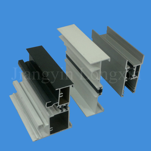 Thermal Break Aluminium Extrusion for Windows White Powder coating