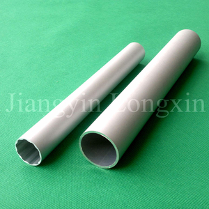 Sandblasted Anodized Aluminium Pipe