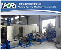 Underwater Co-Rotating Twin Screw Extruder Pellet Plastic Recycling Compound Machine