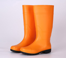 Yellow color non safety wellington rain boots