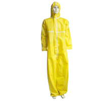 Disposable coverall suit, Disposable Coverall with Hood,Disposable Chemical Coverall