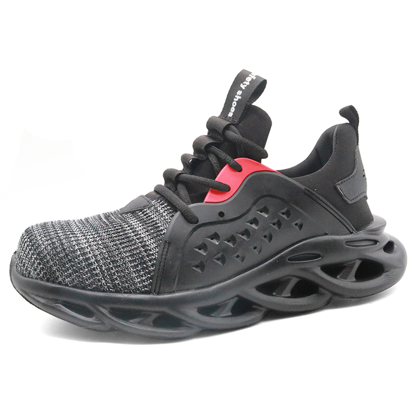 Lightweight Puncture Proof Fashionable Sport Safety Shoes Steel Toe
