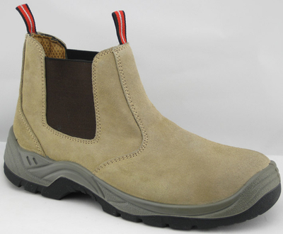 HA1008 suede leather work safety shoes
