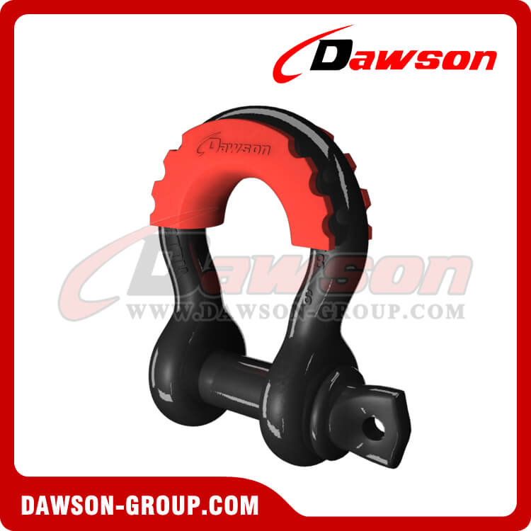 US Type Bow Shackle with PU Protection for Towing and Recovery Strap - China Supplier, Factory