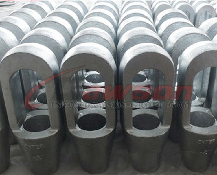 High Tensile Steel Cast Closed Spelter Sockets - Dawson Group Ltd. - China Exporter, Supplier