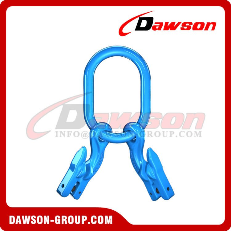 G100 Master Link + G100 Eye Grab Hook with Clevis Attachment × 2 - Dawson Group Ltd. - China Manufacturer, Factory
