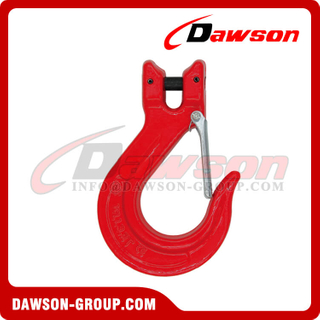 DS069 G80 Clevis Sling Hook with Latch for Lifting Chains