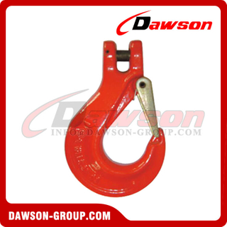 G80 / Grade 80 Italian Type Clevis Slip Hook with Cast Latch for G80 Chain