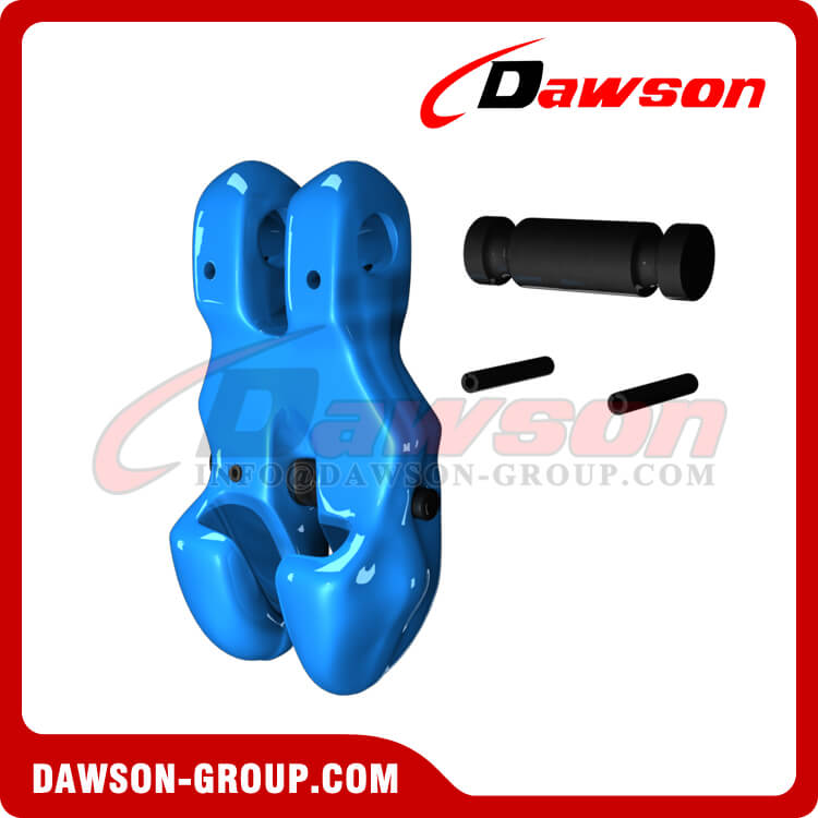 Grade 100 Forged Alloy Steel Clevis Chain Clutch with Safety Pin for Adjust Chain Length - Dawson Group Ltd. - China Factory