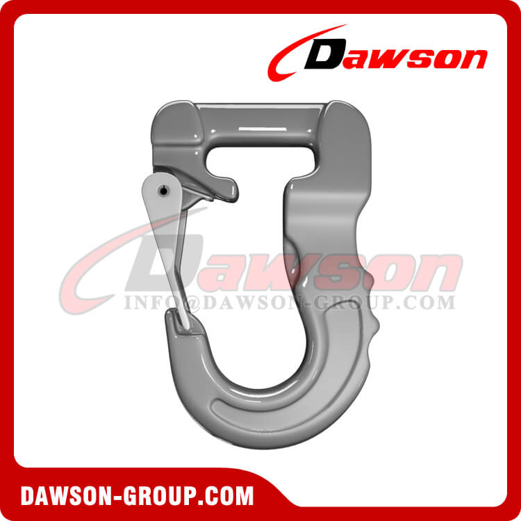 Grade 100 Web Sling Hook, G100 Synthetic Alloy Round Sling Hook 4T - Dawson Group Ltd. - China Factory