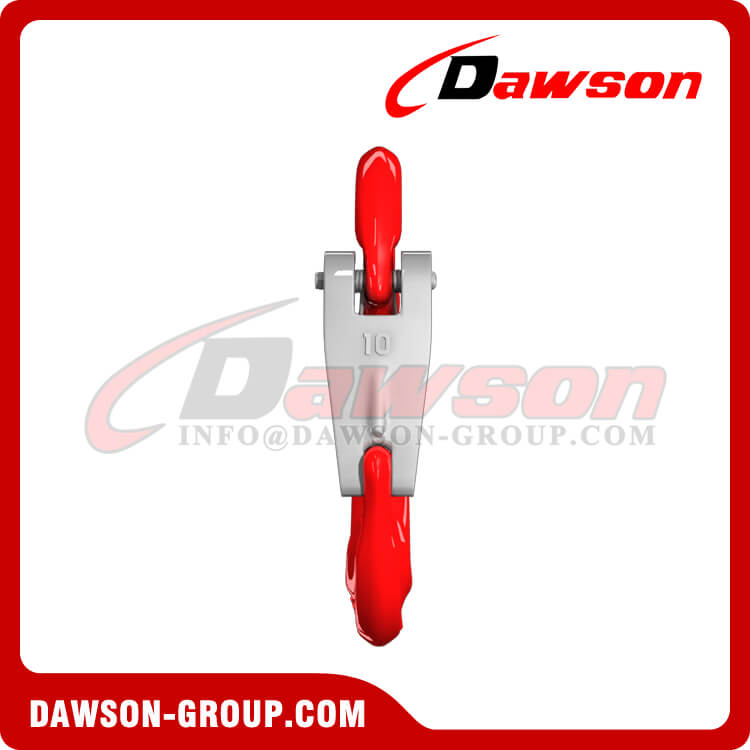 G80 Forged Eye Sling Hook with Cast Latch, Grade 80 Forged Steel Eye Hook - Dawson Group Ltd.- China Supplier