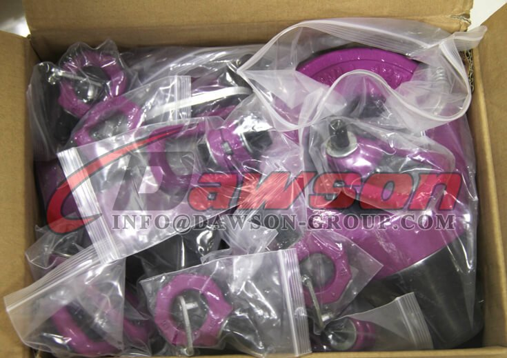 Package of G80 Eye Type Rotating Ring, Grade 80 Lifting Points - Dawson Group Ltd. - China Supplier, Factory