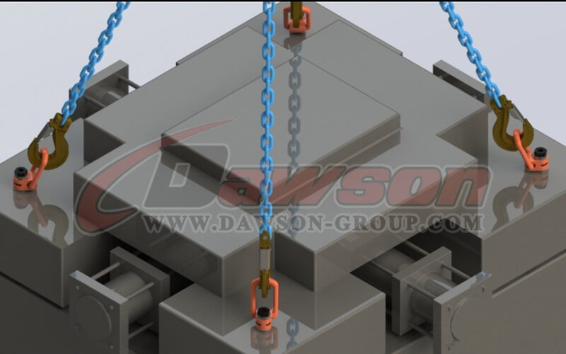 application of DS173 G80 Pivoting Lifting Screw China