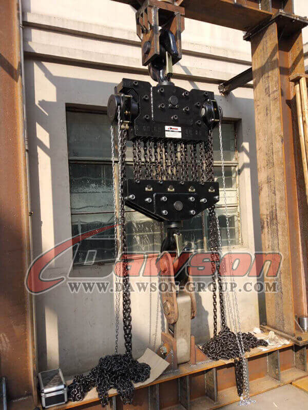 50000kg Heavy Duty Chain Block, Manual Chain Hoist - China Manufacturer Supplier