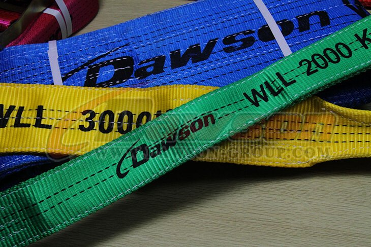 WLL 1 Ton Polyester Webbing Slings - Lifting Slings - Dawson Group Ltd. - China Factory, Exporter