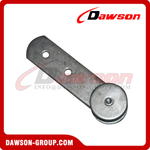 Truck Trailer Parts Steel Sliding Door Track Roller with Wheel for Truck Body Fitting