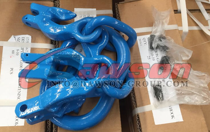 Grade 100 Master Link Assembly with 4 Grab Hook - Dawson Group Ltd. - China Exporter
