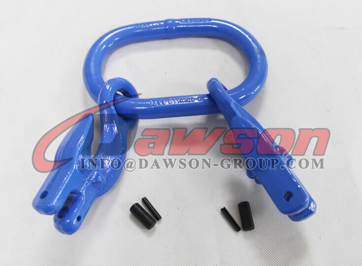 G100 Forged Master Link with 2 Eye Grab Hook with Clevis Attachment for Adjust Chain Length - Dawson Group - China Manufacturer