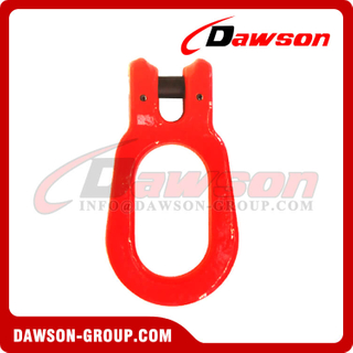 DS645 G80 / G100 Container Lifting Clevis Link, Grade 80 / Grade 100 Forged Alloy Steel Clevis Link for Container Lifting