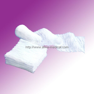 Pre-washed absorbent gauze sponges