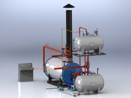 The Composition of Heat Conducting Oil Boiler System Price