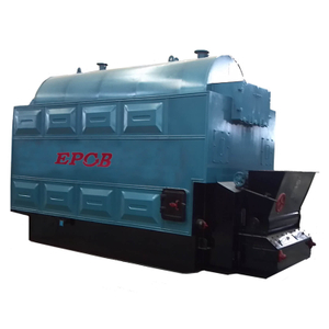 Horizontal Chain Grate Biomass Fired Steam Boiler