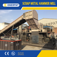 Scrap Metal Recycling Line / Scrap Metal Shredding Line