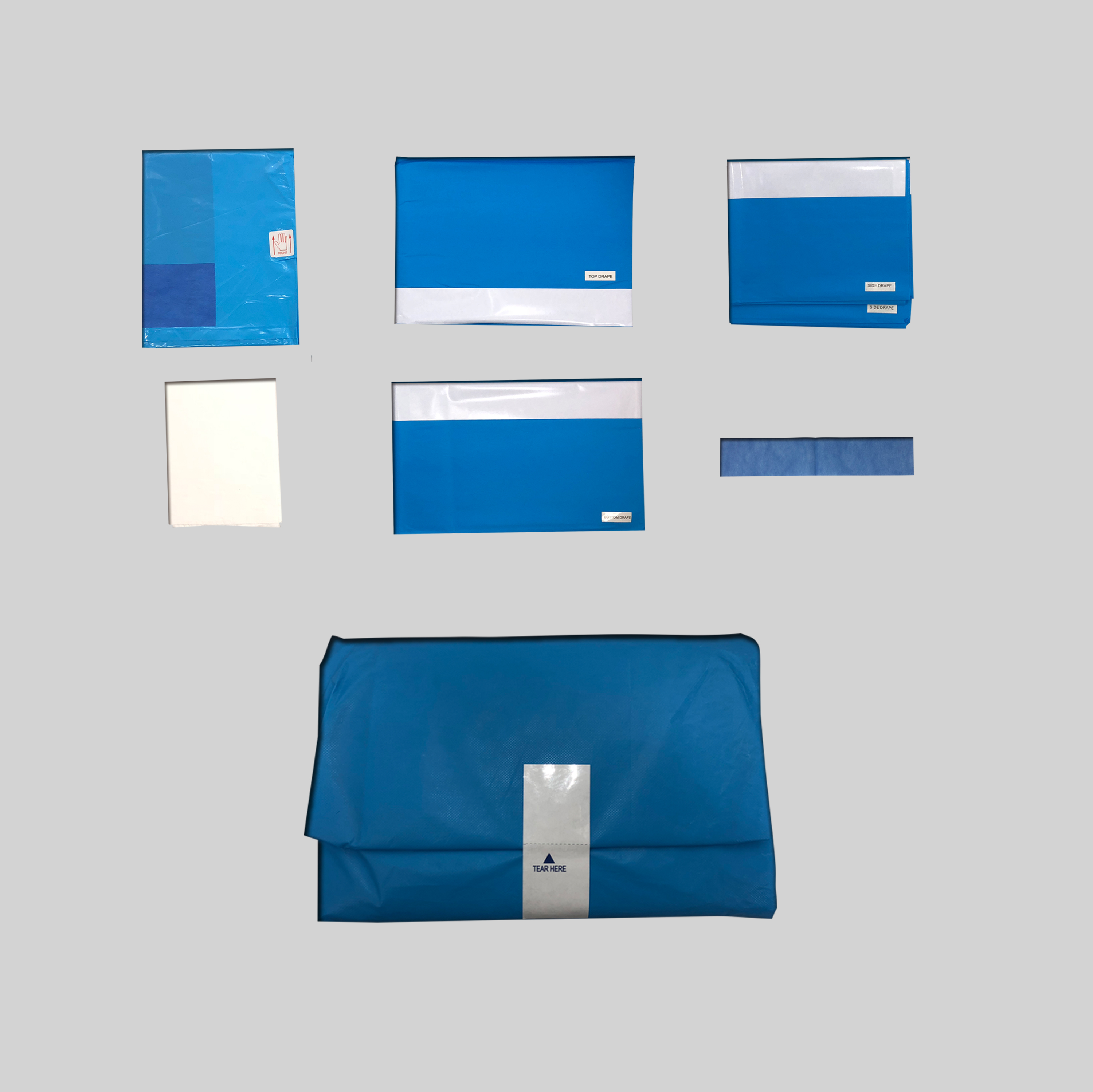 TOPMED new products -- Surgical Drapes,Pack and Kits