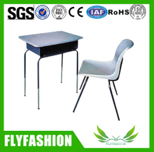 School furniture hot sale student desk and chair set (SF-76S)
