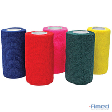 COHESIVE BANDAGE 10cm 12 PACK – ASSORTED COLOURS