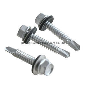 Custom Stainless Steel Flange Head Self Drilling Screws with EPDM
