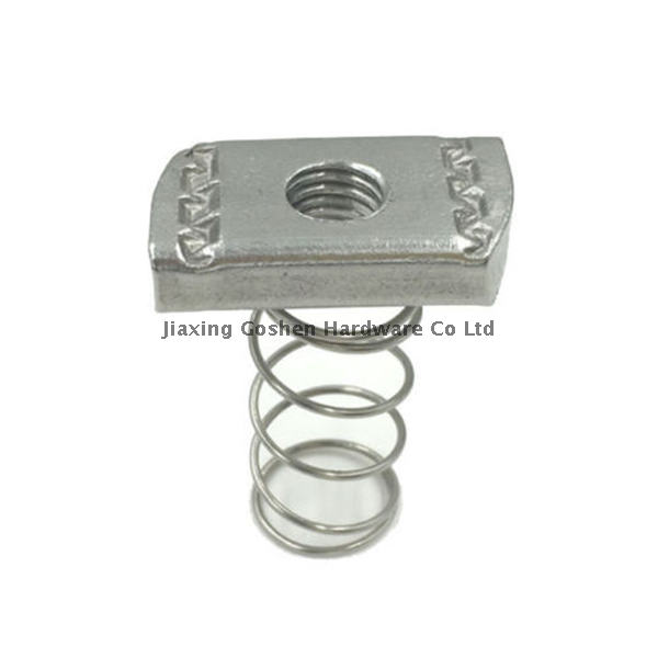 m10 metric stainless steel sus304 spring nut fastenal for building