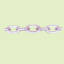 STAINLESS STEEL LINK CHAIN SUS304/316 ASTM80 STANDARD