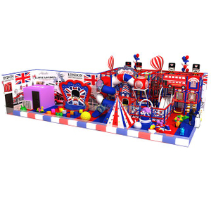 Colourful Theme Park Soft Commercial Indoor Playground Equipment