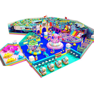 Candy Theme Modern Indoor Playground Equipment for Kids