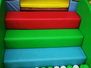 Stair Railings of kids soft indoor playground