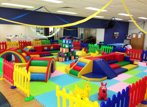 Toddler Area of soft Indoor playground