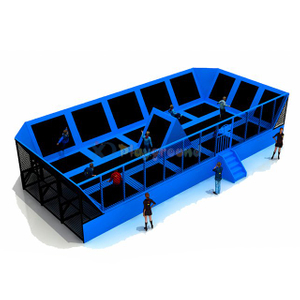 Customized Kids Play Center Theme Trampoline Park for Children