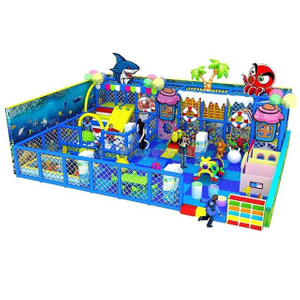 Ocean Themed Commercial Amusement Park Small Indoor Playground Equipment