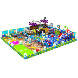 Pirate Ship Themed Amusement Park Children Indoor Soft Playground